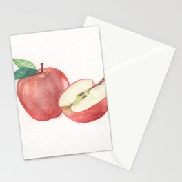 Apple and a Half Stationery Cards