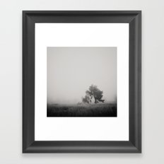 the fog ... Framed Art Print