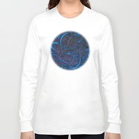 nightmare Long Sleeve T-shirts featuring Nightmare by Lyle Hatch