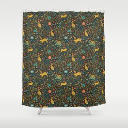 Tortoise and the Hare Shower Curtain