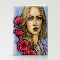 """les miserables Stationery Cards featuring """"Les Miserables"""" by musentango87"""
