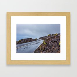 The Endless Road Framed Art Print