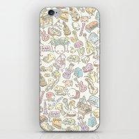 sound iPhone & iPod Skins featuring sound by yumi tashiro