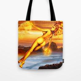 Mara the goddess of fire Tote Bag