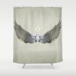 Icarus Wings Shower Curtain