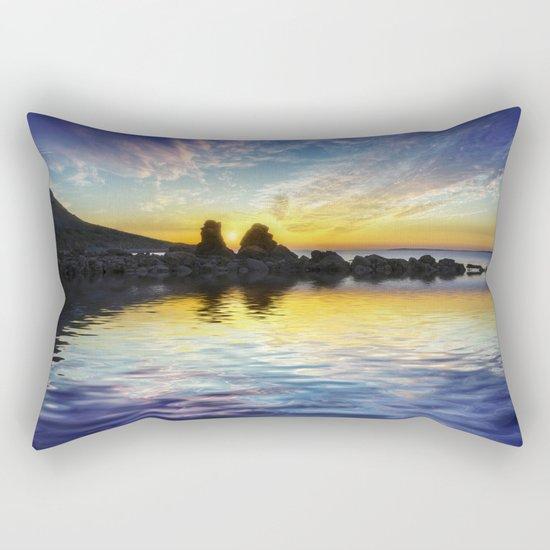 Total Peace Rectangular Pillow