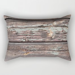 Aged Wood rustic decor Rectangular Pillow
