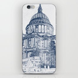 St Pauls Cathedral, London 2070 iPhone Skin