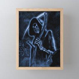 DEATH Framed Mini Art Print