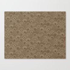 Orbis (Brown) Canvas Print