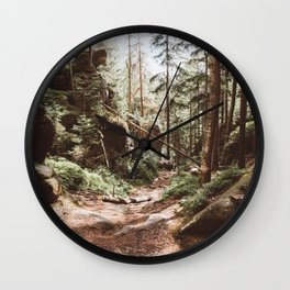 Wild summer - Landscape and Nature Photography Wall Clock