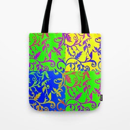 Patchwork Riot Tote Bag