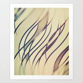 Blurring Art Print