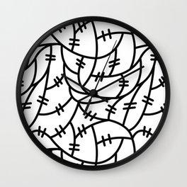 Wire Wall Clock