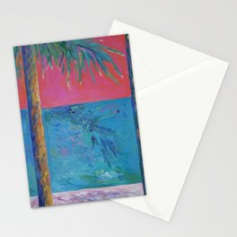 Hot Palms Stationery Cards