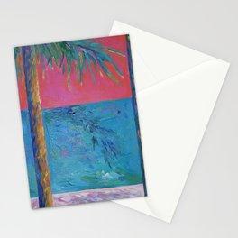 Hot Palms Stationery Cards