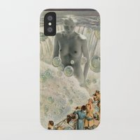 bath iPhone & iPod Cases featuring THE BATH by Julia Lillard Art