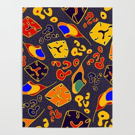 African Fancy Poster