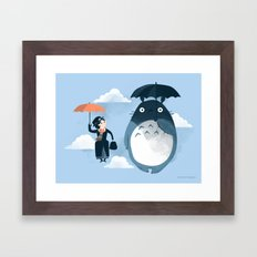 The Perfect Neighbor Framed Art Print