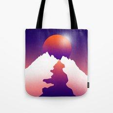 Spilt moon Tote Bag