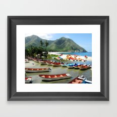 Chuao, Venezuela Framed Art Print