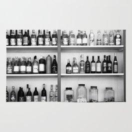 Liquor bottles Rug