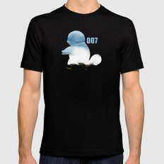 007 squirtle Black SMALL Mens Fitted Tee
