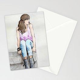 Punky Géraldine Stationery Cards