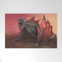 Red Dragon Welcome Mat