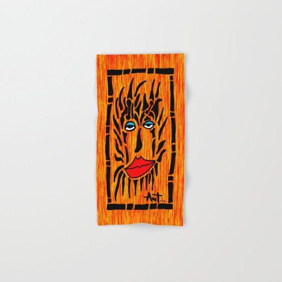 Lion Face Hand & Bath Towel