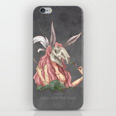 Long live the dead - Rabbit iPhone & iPod Skin