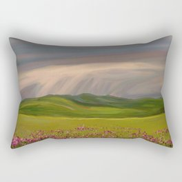 Rain Brings Life Rectangular Pillow