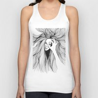 leo Tank Tops featuring Leo by Hanna Viktorsson