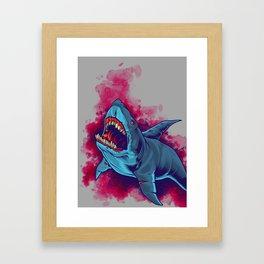 Shark - Natural Hunter Framed Art Print