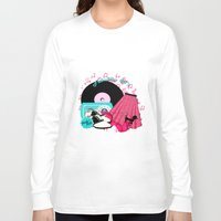 rock n roll Long Sleeve T-shirts featuring Rockabilly Rock n Roll by BURPdesigns