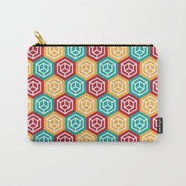 geometric pattern Carry-All Pouch