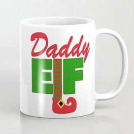 Santa's Daddy Elf Coffee Mug