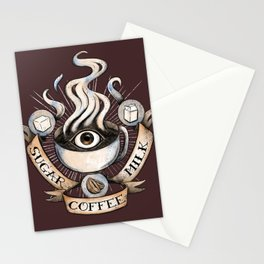 The Coffee Trinity Stationery Cards