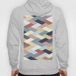 Earth Tones and Blues Geometry IB Hoody
