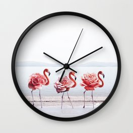 The Pink Dance Wall Clock