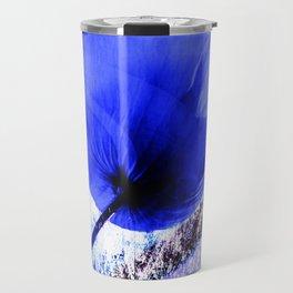 Blue Poppy vintage 222 Travel Mug