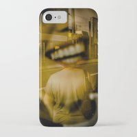 talking heads iPhone & iPod Cases featuring heads by Diogo Andrade
