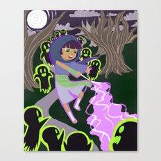 Ghost Battle Canvas Print