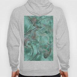 Mint Gem Green Marble Swirl Hoody