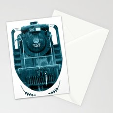 Train 2 Stationery Cards