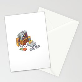 Retro gaming console Stationery Cards
