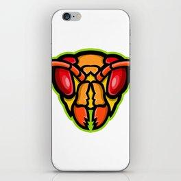 Hornet Head Mascot iPhone Skin