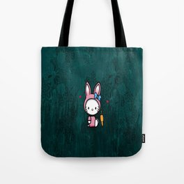 HK with carrot Tote Bag
