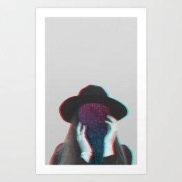 Faceless - 1 Art Print