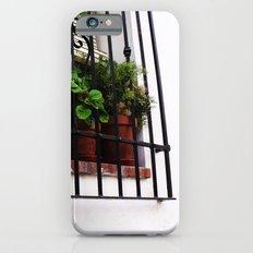 Whitewashed Walls iPhone 6s Slim Case